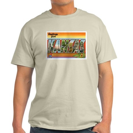 Greetings from Kansas Light T-Shirt