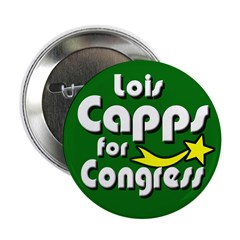 Lois Capps for Congress Button