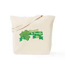 Vintage Happy St. Patrick's Day Tote Bag
