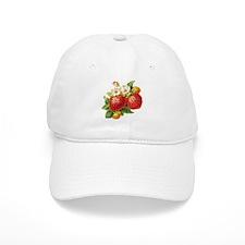 Retro Strawberry Baseball Cap
