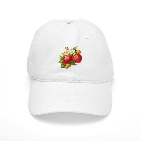 Retro Strawberry Cap