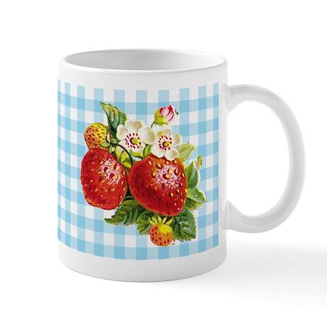Retro Strawberry Mug