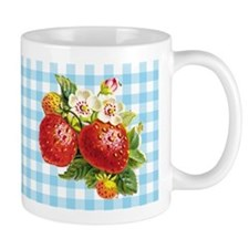 Retro Strawberry Mug