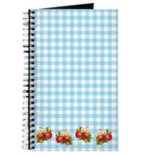 Retro Strawberry Journal