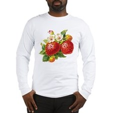 Retro Strawberry Long Sleeve T-Shirt