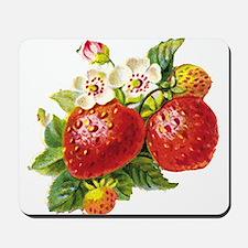 Retro Strawberry Mousepad
