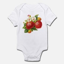 Retro Strawberry Infant Bodysuit