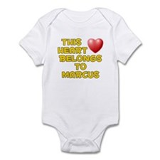 This Heart: Marcus (D) Infant Bodysuit