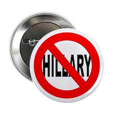 Anti Hillary Clinton Button