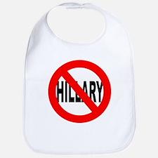 Anti Hillary Clinton Bib