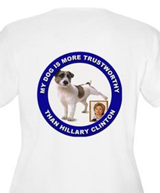 Anti Hillary Clinton T-Shirt