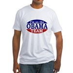On the Obama Team Fitted T-Shirt