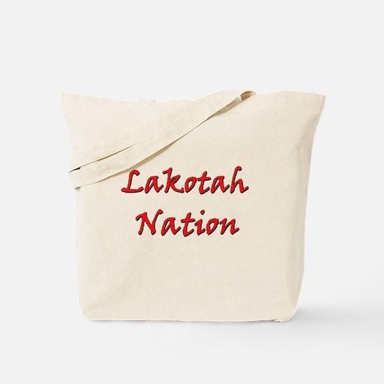 Lakotah Nation Tote Bag