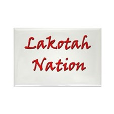 Lakotah Nation Rectangle Magnet