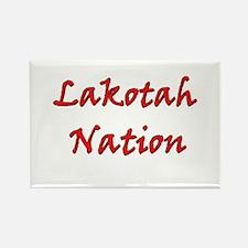 Lakotah Nation Rectangle Magnet
