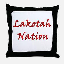 Lakotah Nation Throw Pillow