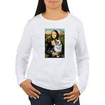 Mona's Corgi (Bl.M) Women's Long Sleeve T-Shirt