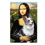 Mona's Corgi (Bl.M) Postcards (Package of 8)
