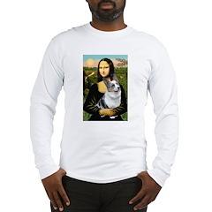 Mona's Corgi (Bl.M) Long Sleeve T-Shirt