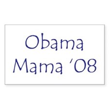Obama Mama '08 Rectangle Decal