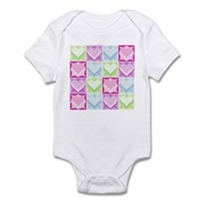 SIXTEEN COLORFUL HEARTS Onesie