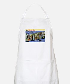 Greetings from Kentucky BBQ Apron