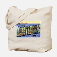 Greetings from Kentucky Tote Bag