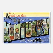 Greetings from Kentucky Postcards (Package of 8)