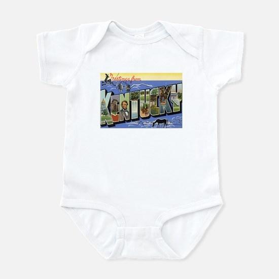 Greetings from Kentucky Infant Bodysuit