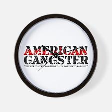 American Gangster Wall Clock