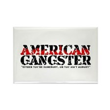 American Gangster Rectangle Magnet