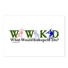 What Would Kokopelli Do? d30 Postcards (Package of