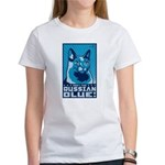 Obey the Russian Blue! Cat Women's T-Shirt