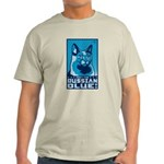 Obey the Russian Blue! Cat Light T-Shirt