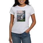 The Seine - Corgi (Bl.M) Women's T-Shirt