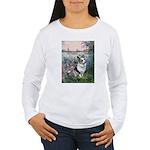 The Seine - Corgi (Bl.M) Women's Long Sleeve T-Shi