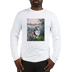 The Seine - Corgi (Bl.M) Long Sleeve T-Shirt