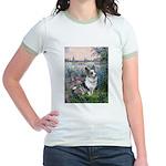 The Seine - Corgi (Bl.M) Jr. Ringer T-Shirt