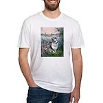 The Seine - Corgi (Bl.M) Fitted T-Shirt