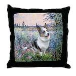 The Seine - Corgi (Bl.M) Throw Pillow