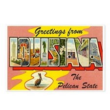 Greetings from Louisiana Postcards (Package of 8)