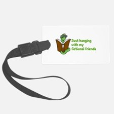 Friend of Fiction Luggage Tag