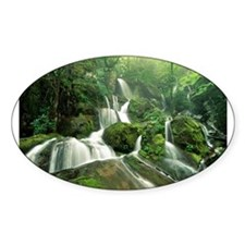 Cliff Branch Falls Oval Decal
