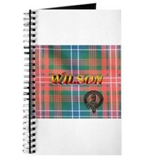 Wilson Tartan & Badge Journal