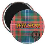 Wilson Tartan & Badge Magnet