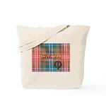 Wilson Tartan & Badge Tote Bag