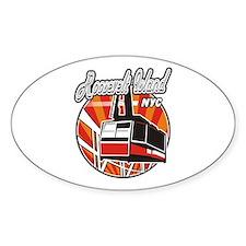 Roosevelt Island Tram Logo Oval Decal
