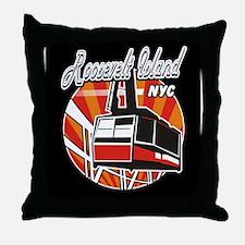 Funny Queensboro Throw Pillow