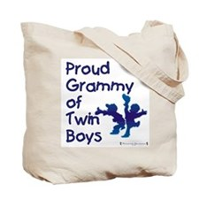 Grammy of Twins Tote Bag