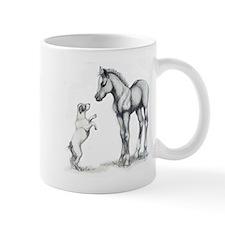 Jack russle terrier, and foal Mug